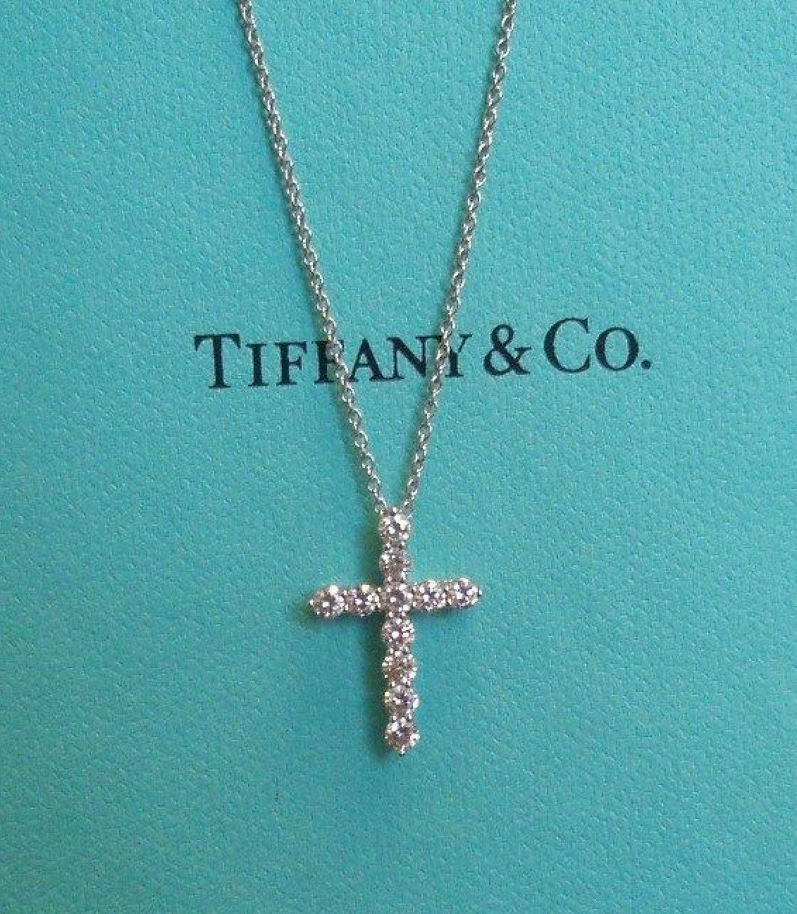 5fe739e9a Tiffany & Co. Cross pendant | Jewerly in 2019 | Tiffany jewelry ...