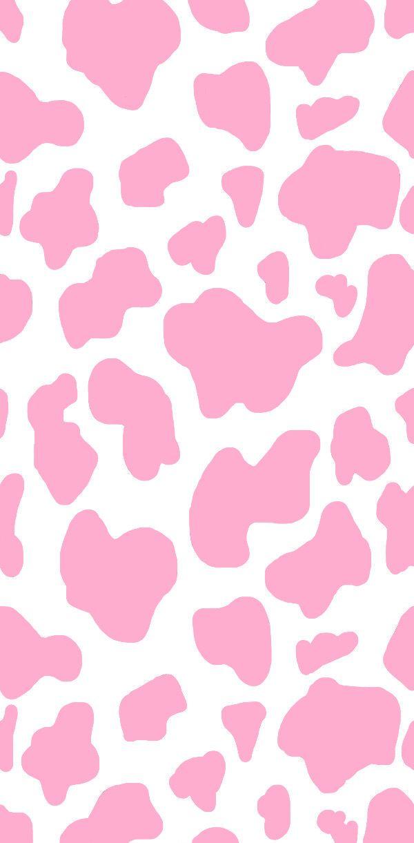 Pink Cow Print Wallpaper Cow Print Wallpaper Cow Wallpaper Animal Print Wallpaper