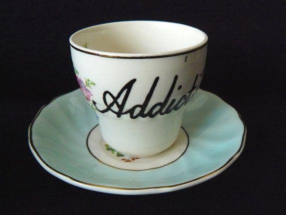 Addict espresso cup. Perfect for me. :)