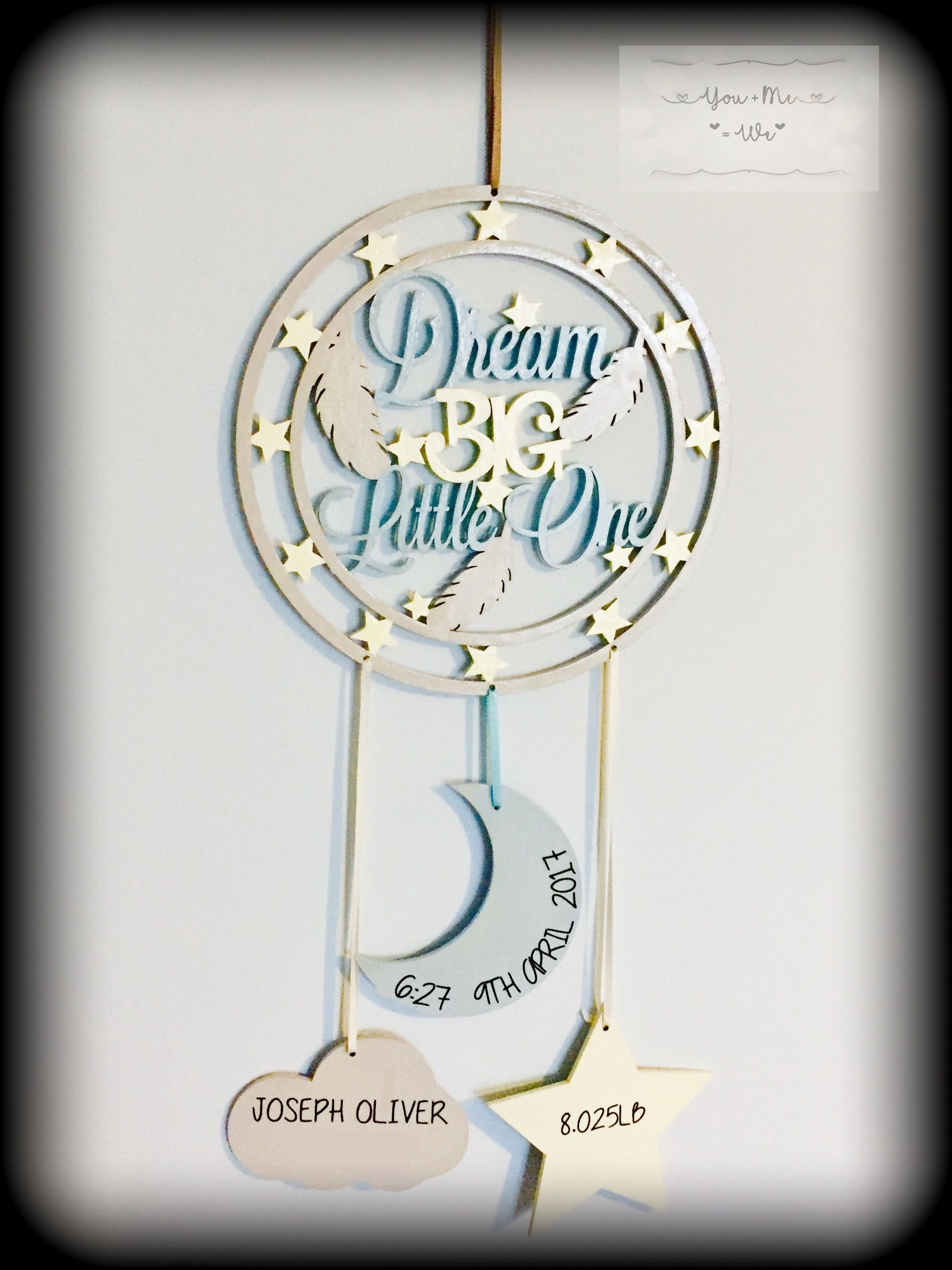 Personalised dream catcher youmeweshop
