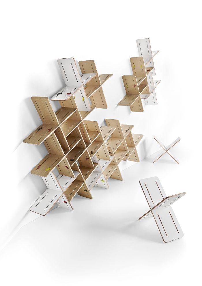 Designermobel Wollten Durch Originalitat Beeindrucken Design Sperrholz Design Modulares Regal