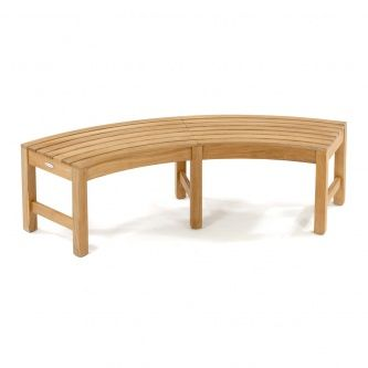 Buckingham Westminster Teak Furniture Core Credit Union - Teak table with benches
