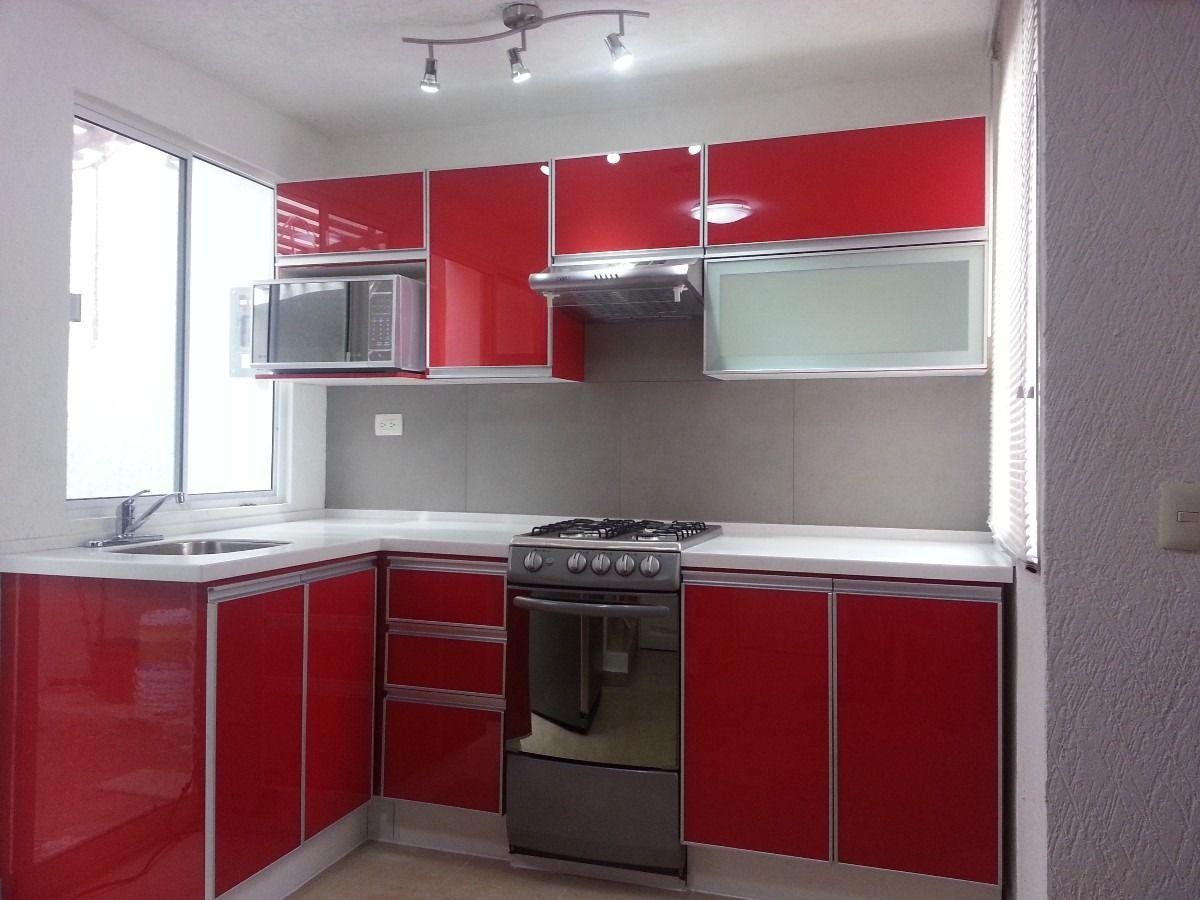 Puertas de aluminio para cocina hogar y dise o - Cristaleras de aluminio ...
