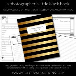 PhotographerS Planner  Film And Photography
