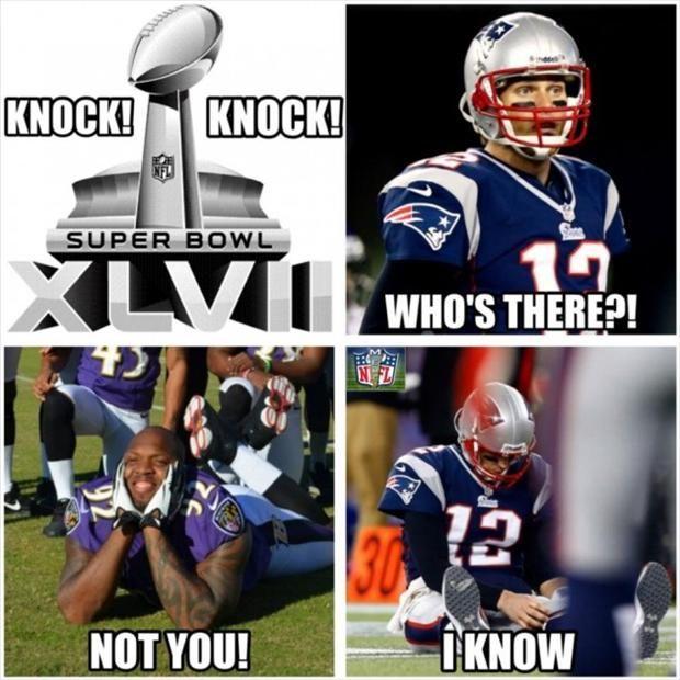 Funny Super Bowl Picture 2014 Funny Super Bowl Pictures Tom Brady Nfl Memes Funny Funny Football Memes Nfl Funny