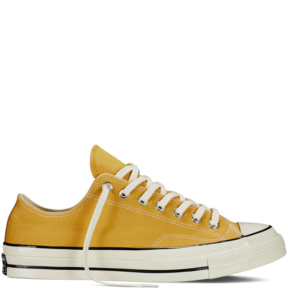 35475bf452 Chuck Taylor All Star  70 Vintage Canvas Sunflower Black Egret  sunflower black egret