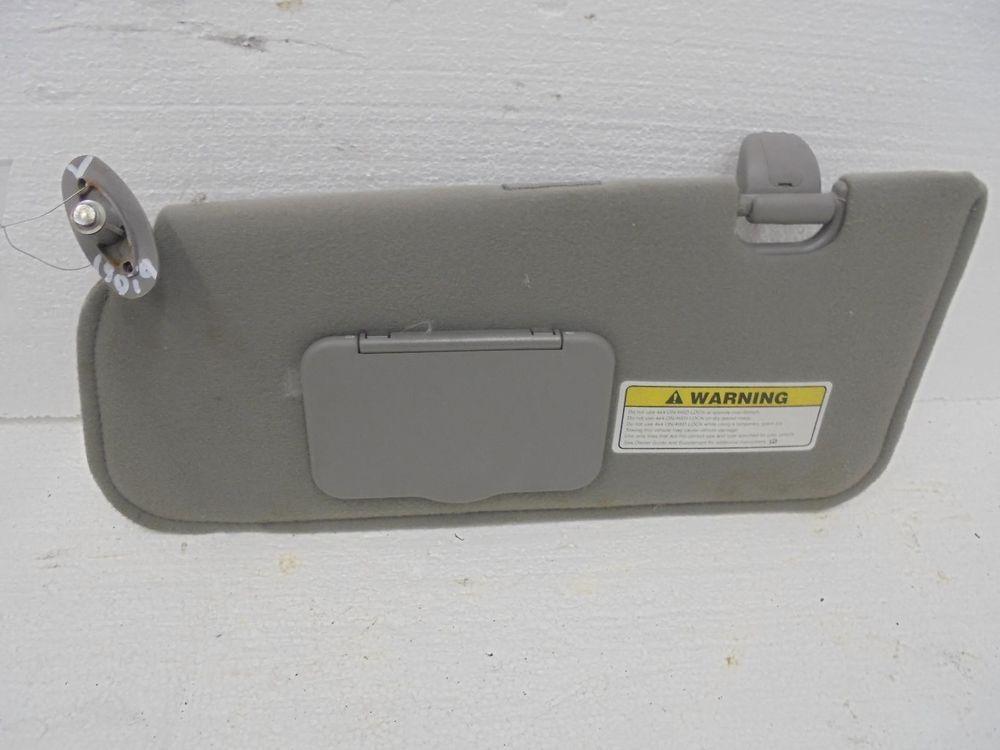 Ford Escape XLT 4x4 Left Sunvisor Sun Visor Gray Cloth 01 02 OEM  Ford ca5edf5c499
