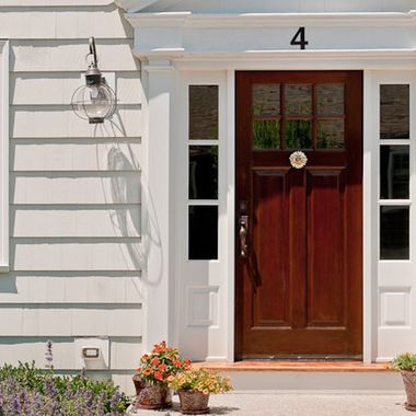 Colonial front doors the front door who doesn 39 t love a for Colonial entry door