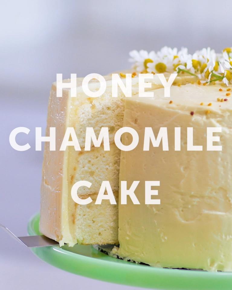 Honey Chamomile Cake -   16 desserts Fancy cake ideas
