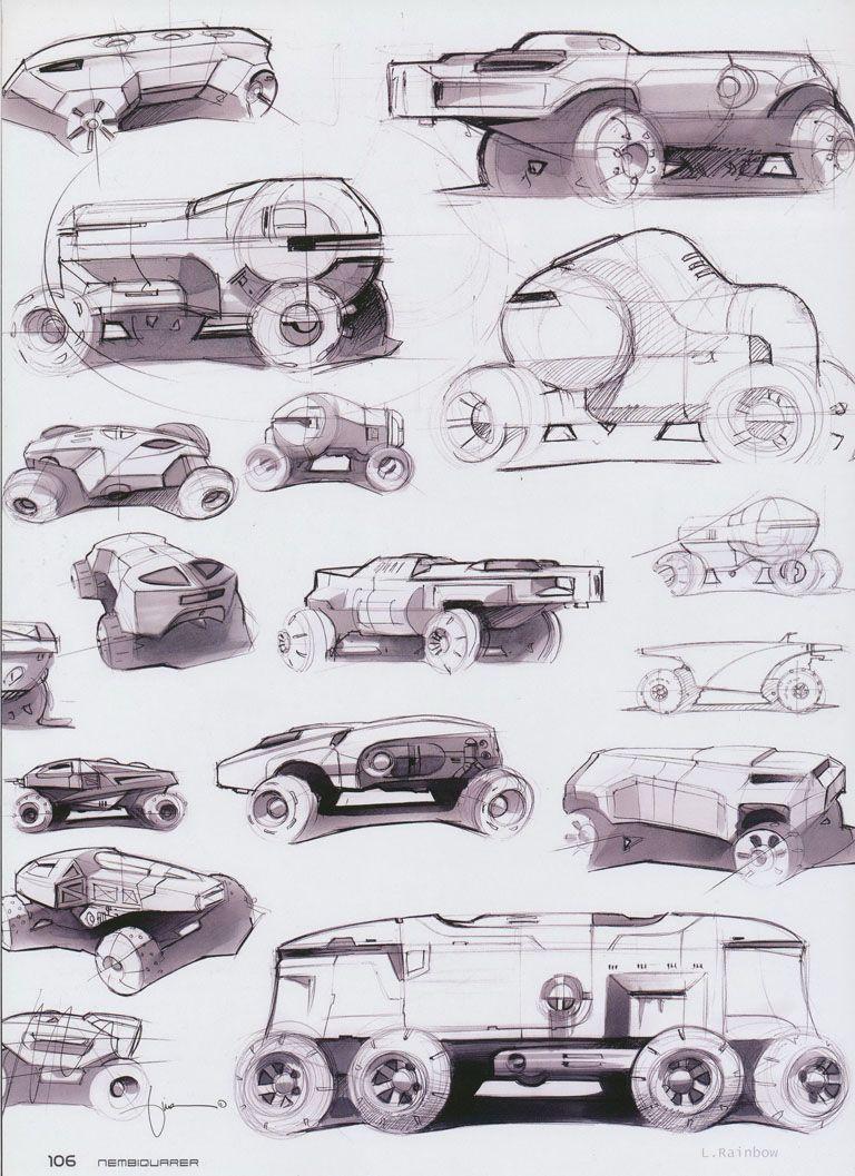 Design of car model - Character Design References Find More At