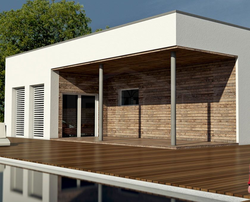 Gea progetto casa in bioedilizia case prefabbricate in for Case bianche moderne