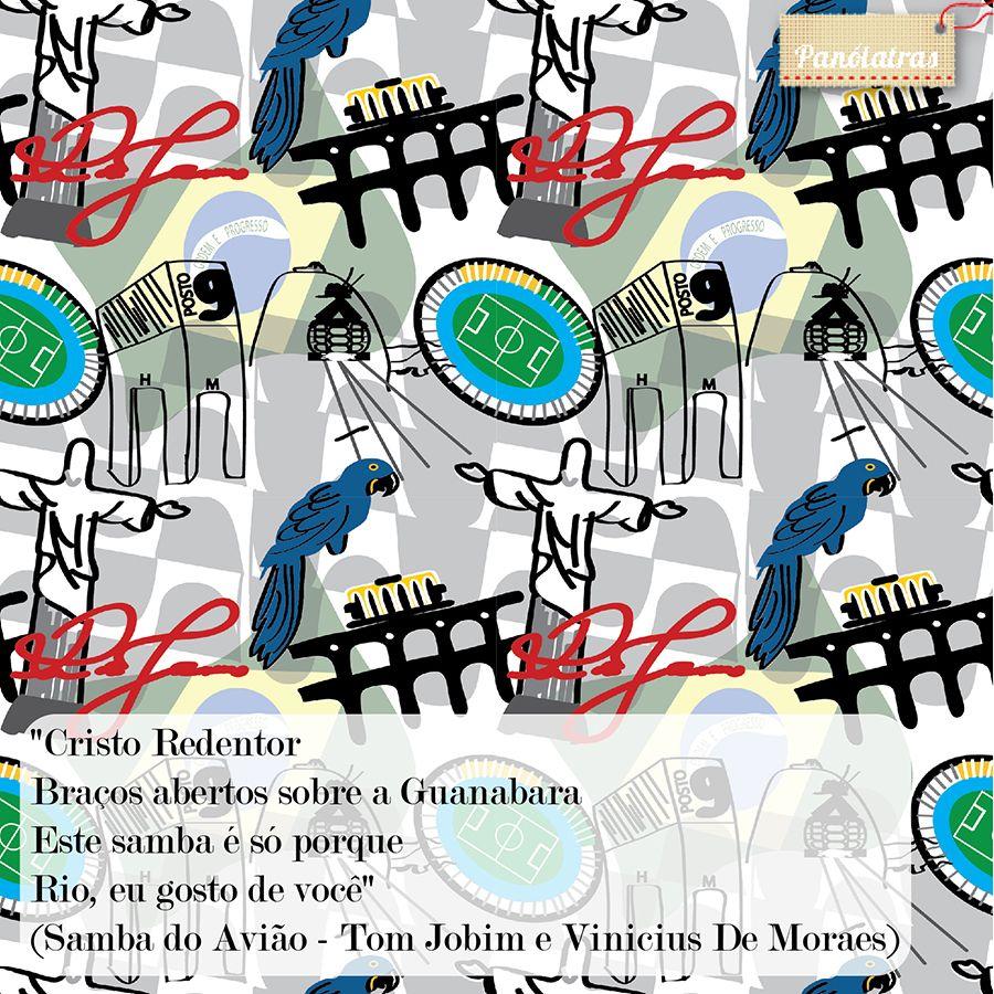 Rio, nós te amamos!  [http://www.panolatras.com.br/compre/tecidos/pontos-do-rio]