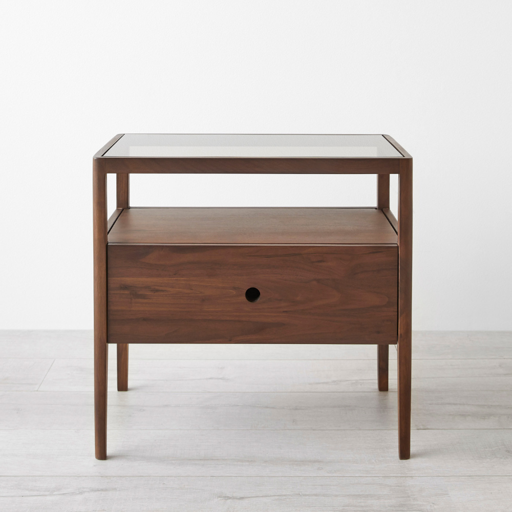 Spindle Walnut Nightstand in 2020 (With images) Walnut
