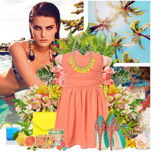 In A Sea Of People, My Eyes Will Always Search For You (Chiffon Bandeau Dress by Rare** $23)