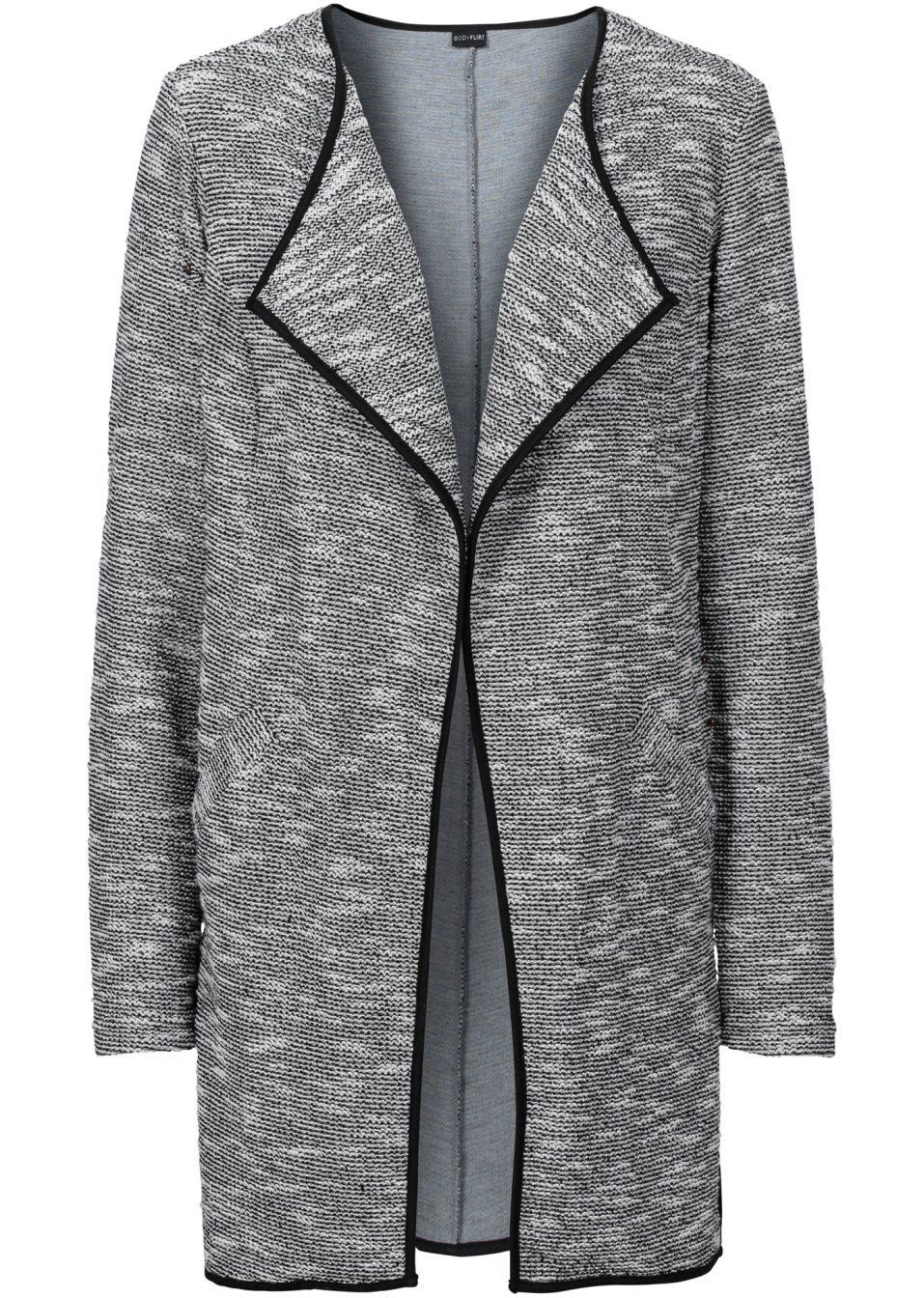 Buklé bunda z džerseju Moderná bunda • 34.99 € • bonprix