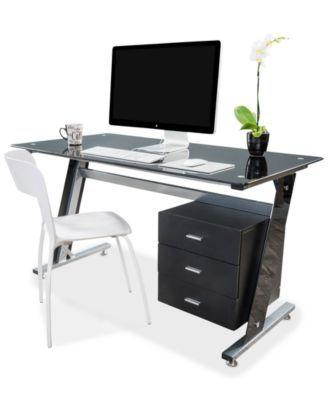 Thorpe Bk Computer Desk Quick Ship Modivine Home Office