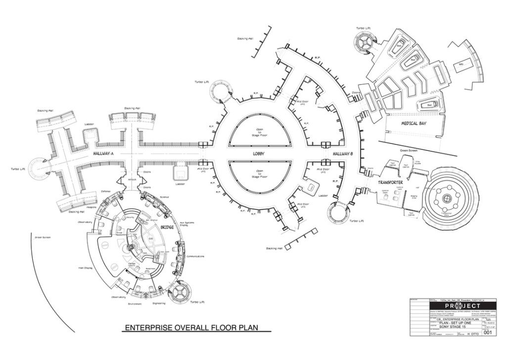 Layout Of The Uss Enterprise Set Finally