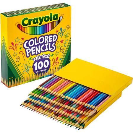 Crayola Signature Colored Pencils 24ct Writing Crayola