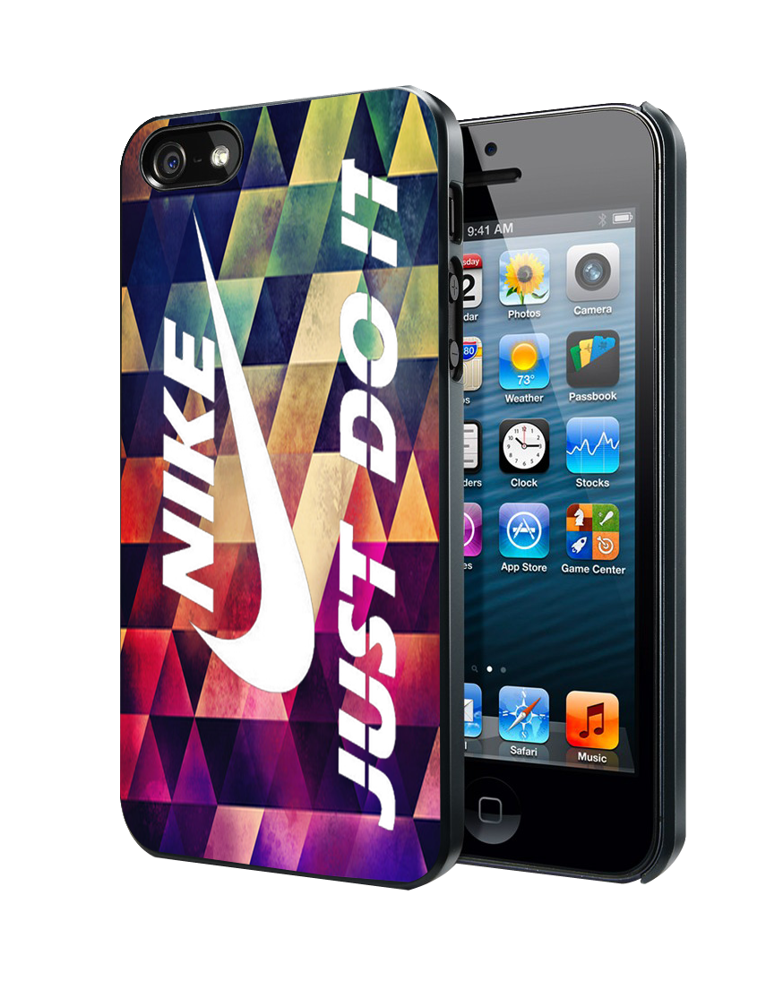 check out ab9d7 f493d Geometric Nike Just Do it iPhone 4 4S 5 5S 5C Case