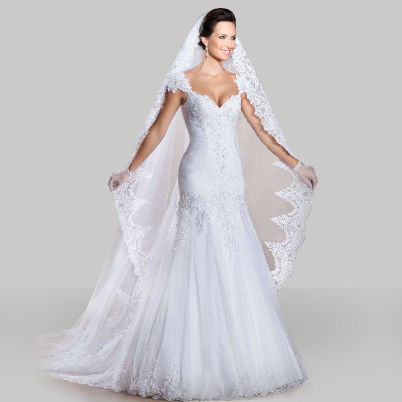 Cheap 2014 romántica por encargo vestidos de novia vestido de boda ...