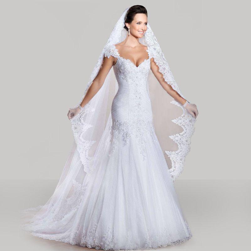 Find More Wedding Dresses Information about Custom Made 2015 Vestido ...