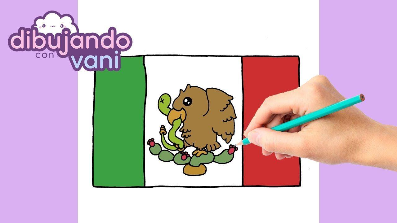 Como Dibujar Bandera De Mexico Kawaii Dibujos Imagenes Faciles Anime P Bandera De Mexico Dibujo Mexico Bandera Dibujos