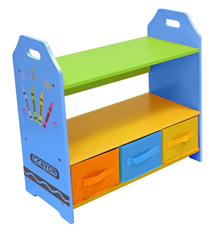 Regale Mit Drei Aufbewahrungsboxen Spielzeugregal Fur Das