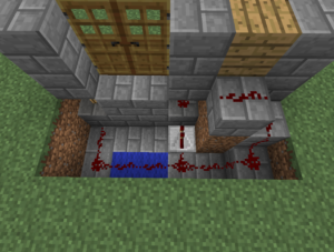 Double Iron Door Minecraft