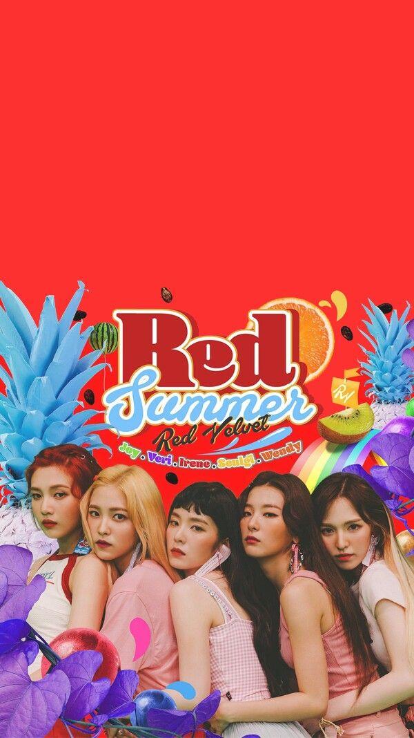Red Velvet Lockscreen Red Velvet In 2018 Pinterest