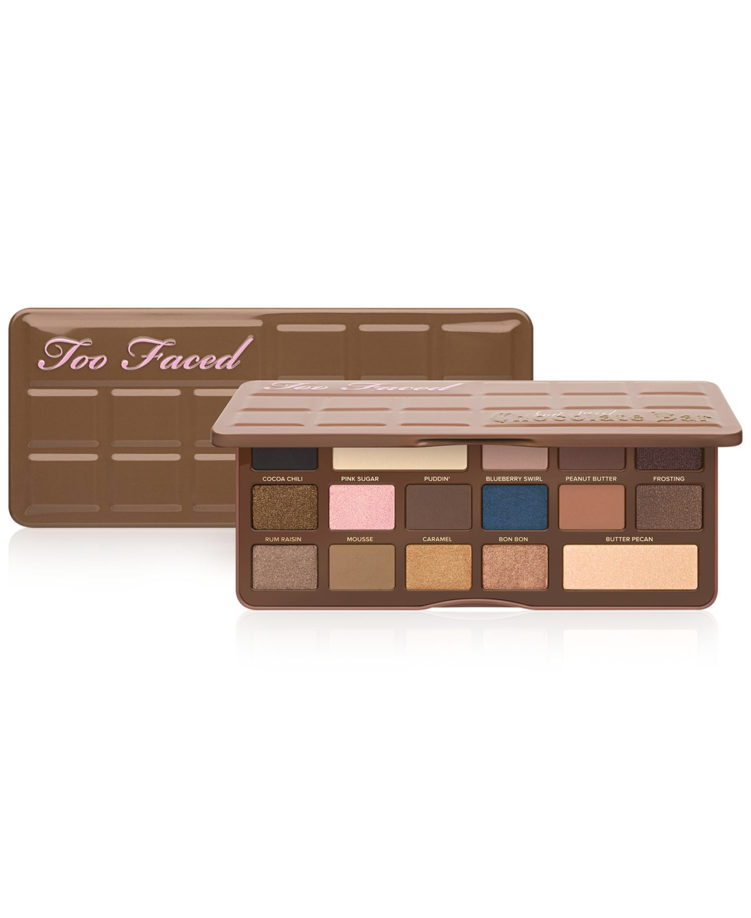 Semi-Sweet Chocolate Bar Eye Shadow Palette by Too Faced on HeartThis