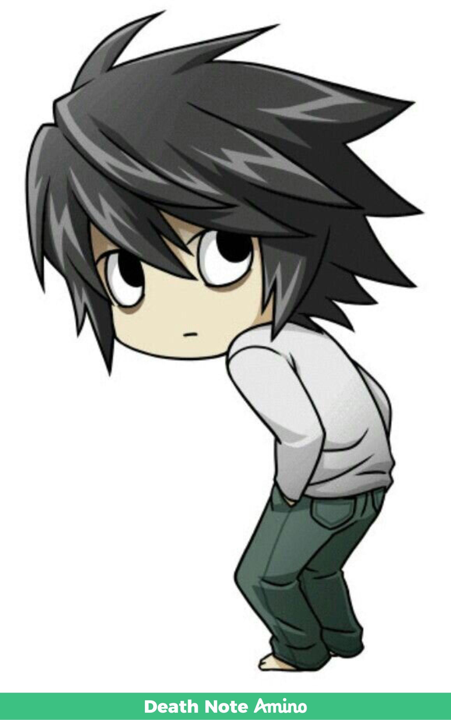 Gambar Gambar Anime Oleh Nat Monteiro Pada Death Note Animasi Seni