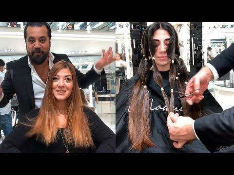Top 10 Hair Transformations By Mounir Salon New Hairstyle