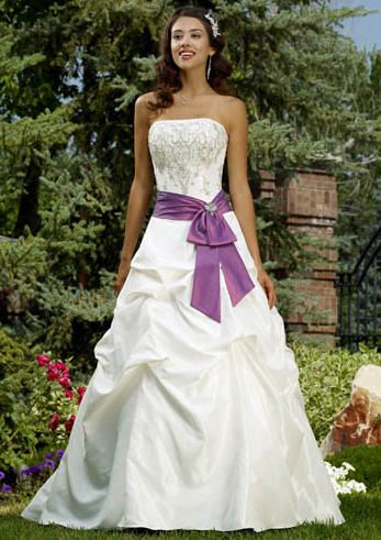 Color Accents Wedding Gowns Archives The Wedding Specialists