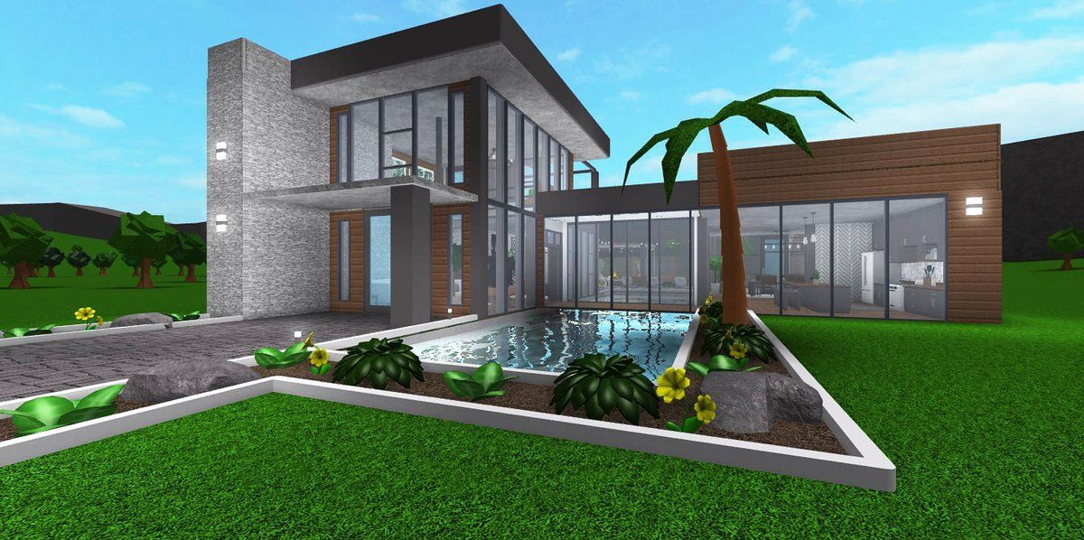 Cheap Backyard Ideas Bloxburg