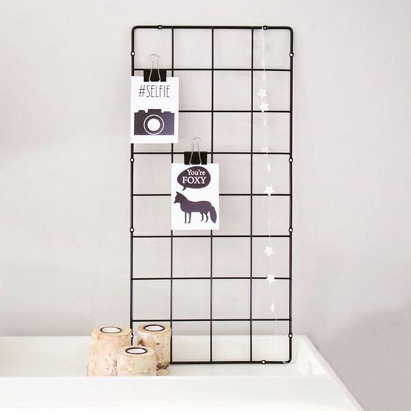 Ikea Plantenrek Met Ansichtkaarten En Papieren Slinger Thuis Diy Ikea Ideeen Ikea
