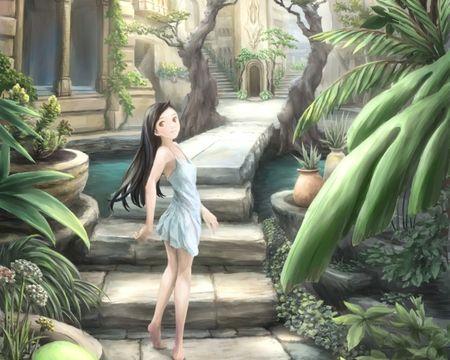Walking Barefoot Desktop Nexus Wallpapers Walking Barefoot Wallpaper Anime Wallpaper