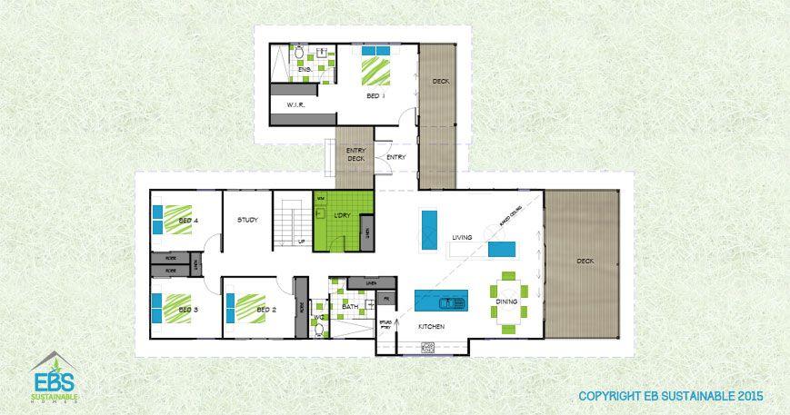LPR 264 Contemporary Home Designs Floor Plan Bush Homes | House ...