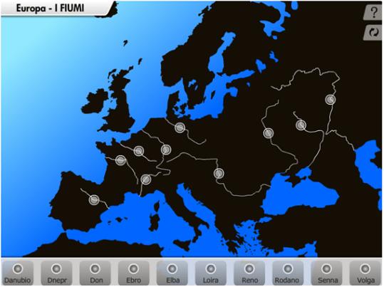 Fiume Elba Cartina Geografica.Pin Su Disegni