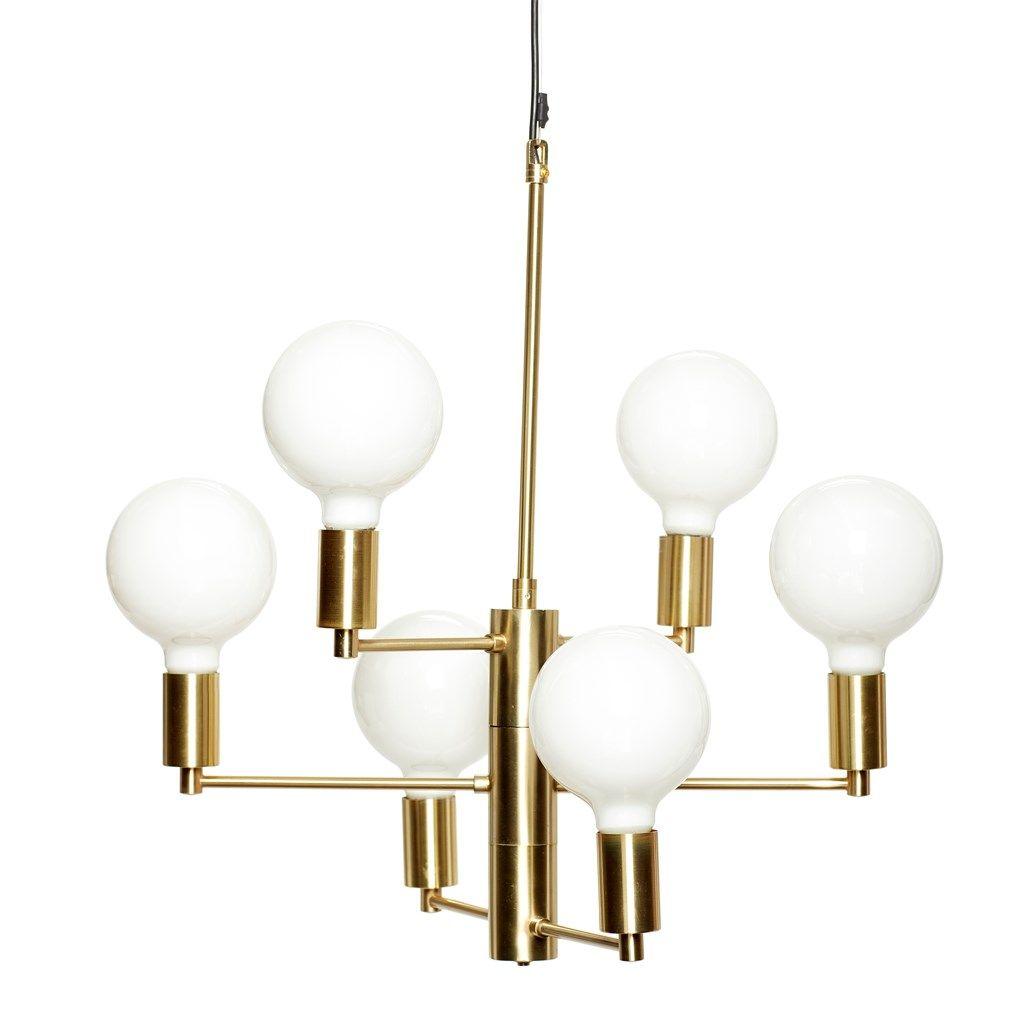 lamp w bulb led brass glass w black wire size 57xh59cm e27 40w