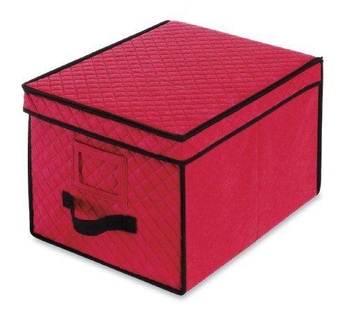 Whitmor 6129-2688 Christmas Ornament Storage Box \u003e\u003e\u003e Want to know