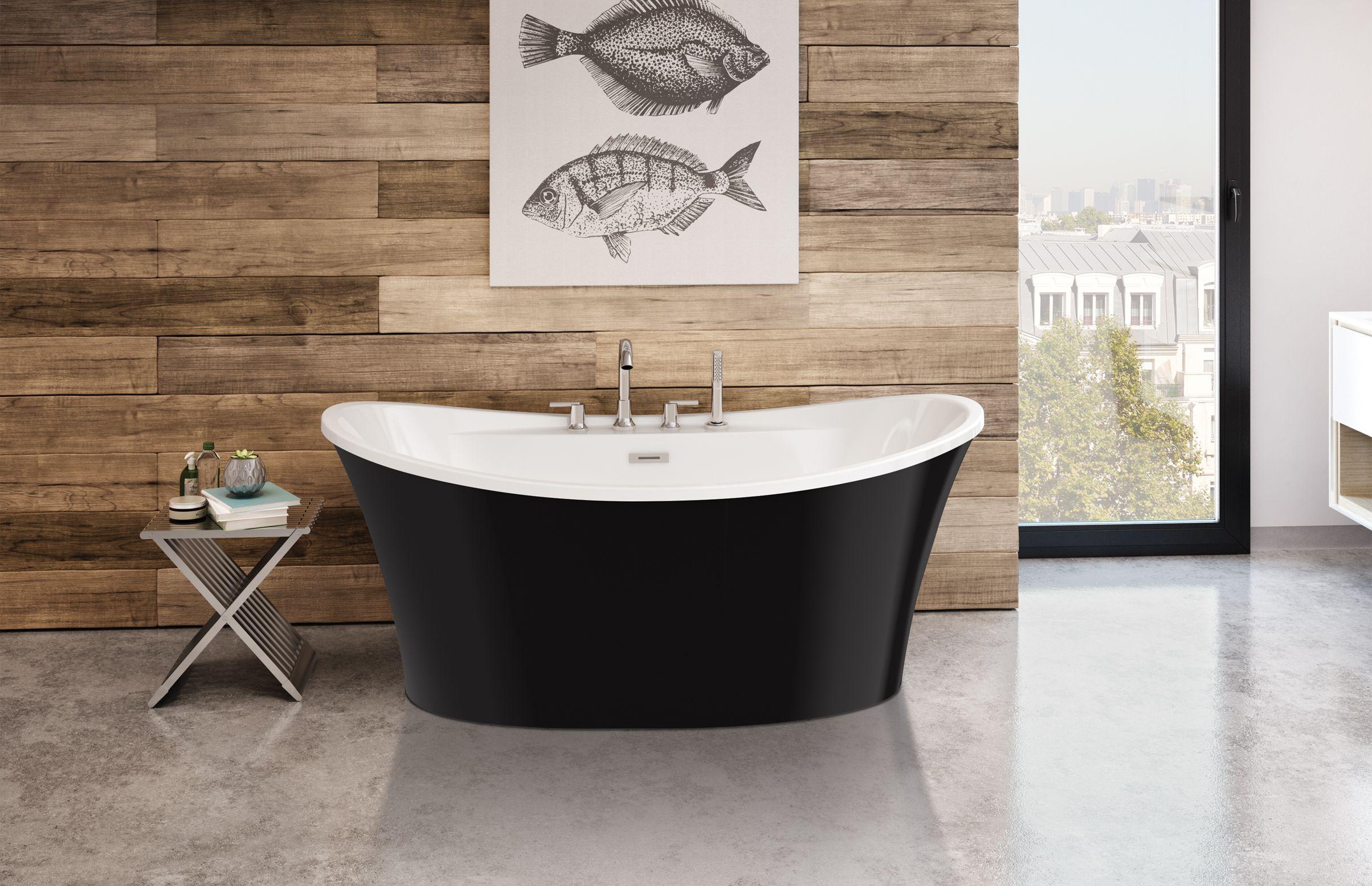 Bain Sax Autoportant - MAAX Bath Inc. | salle de bain MR | Pinterest ...