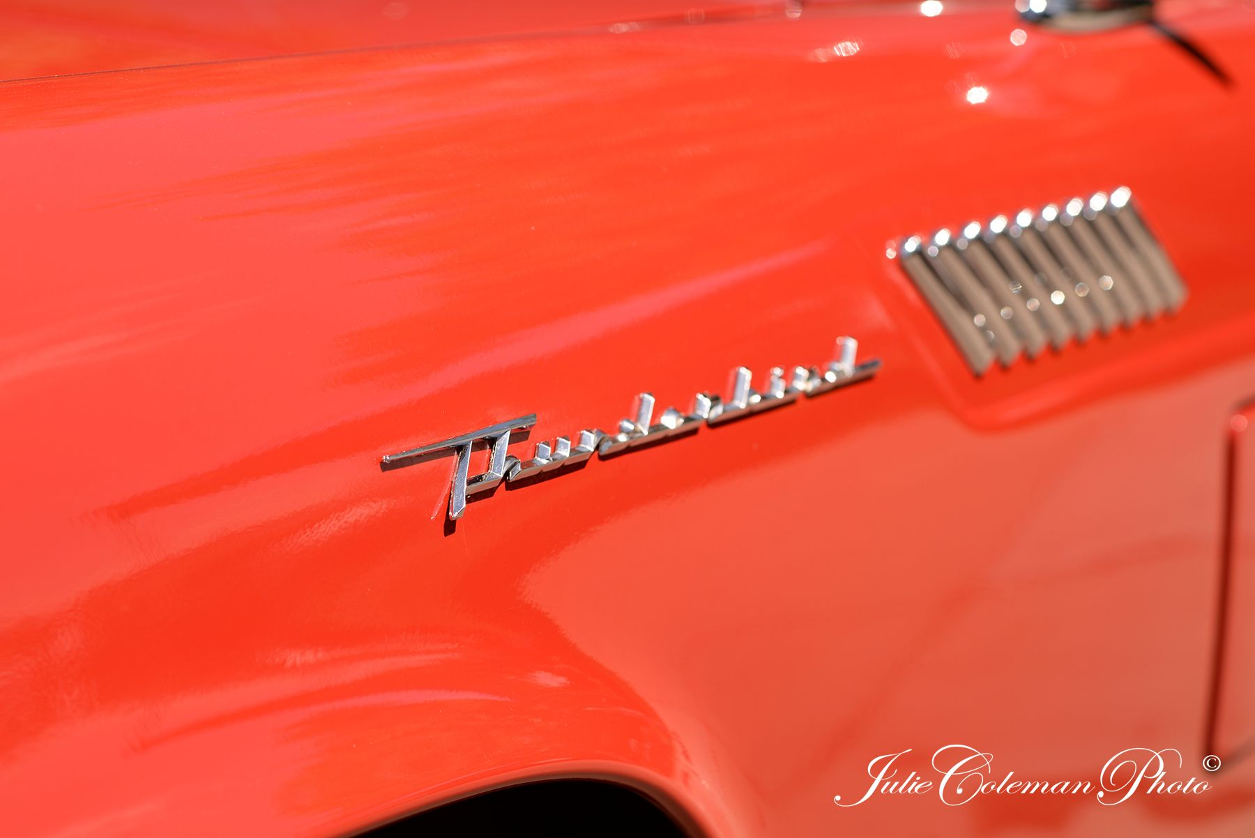 Classic car show. Photography by Julie Coleman