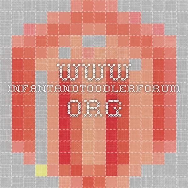 www.infantandtoddlerforum.org