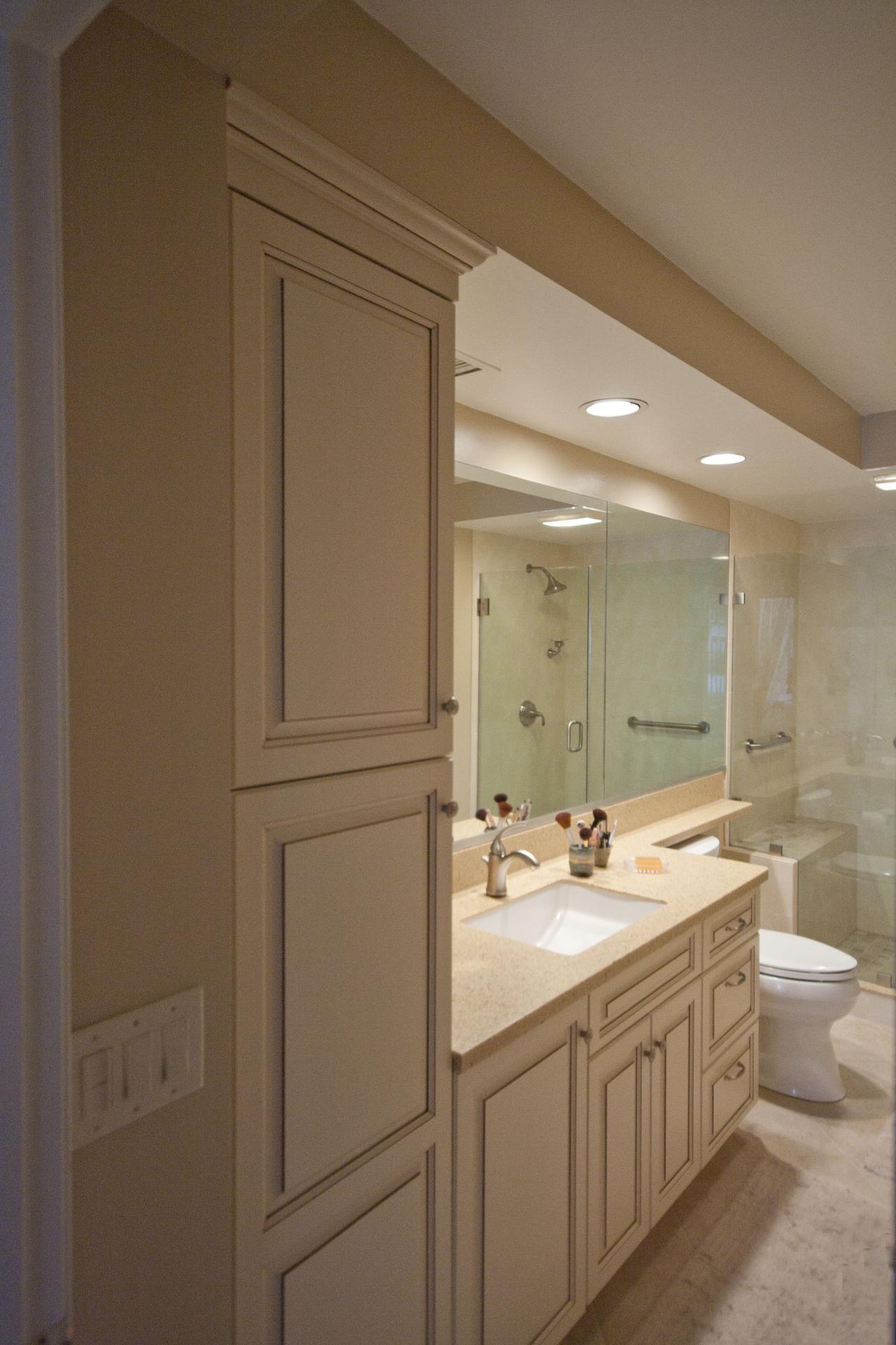 Apartment Bathroom Organization Shower