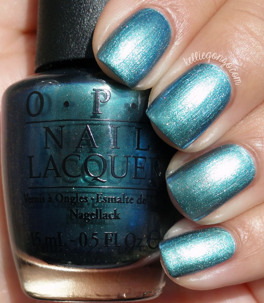 OPI This Color\'s Making Waves // kelliegonzo.com | my nails ...