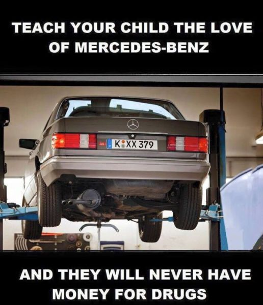 Teaching Your Kids The Love Of Mercedes-Benz Is The Best -3661