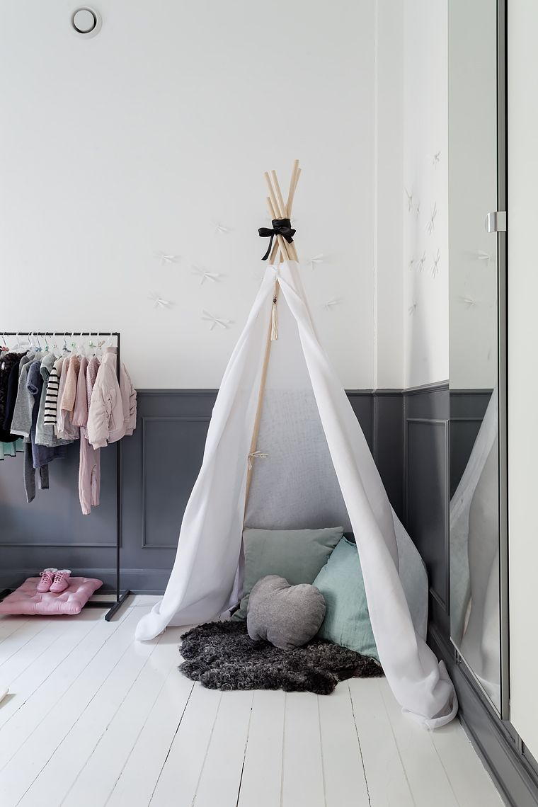 cute and cozy kids space..