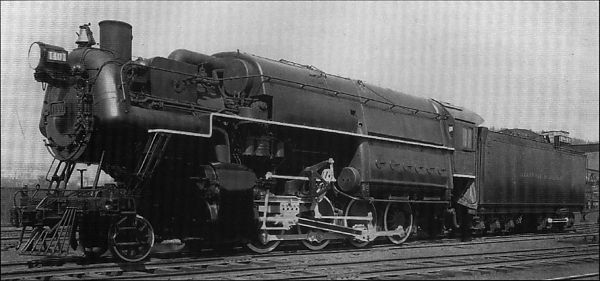 American High Pressure Steam Locomotives