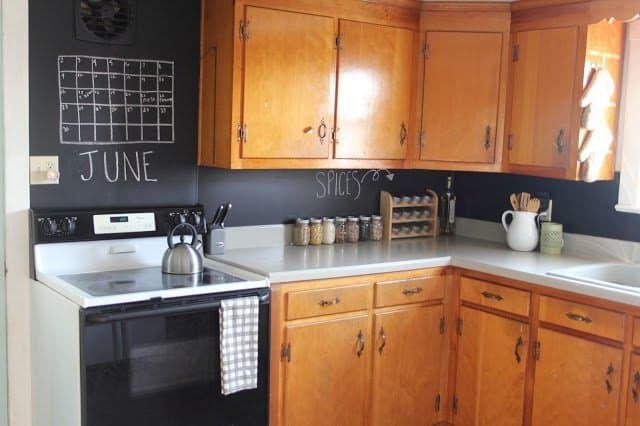 15 Ideas for Removable, DIY Kitchen Backsplashes | Rental ...