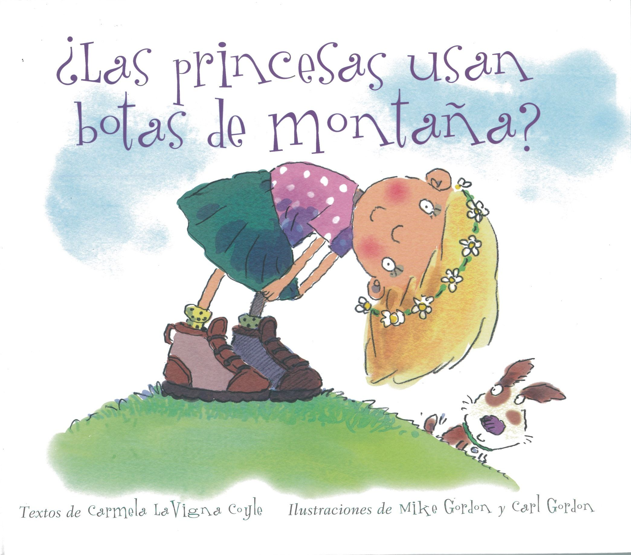 Todas las niñas curiosas se preguntan cómo es eso de ser una auténtica princesa. En el interior de ¿Las princesas usan botas de montaña? hay una niña enérgica, moderna y llena de vida que tiene muchas preguntas que hacer a su madre.  Carmela La Vigna: ¿Las princesas usas botas de montaña? (Obelisco)